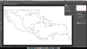 flight-path-map-photoshop